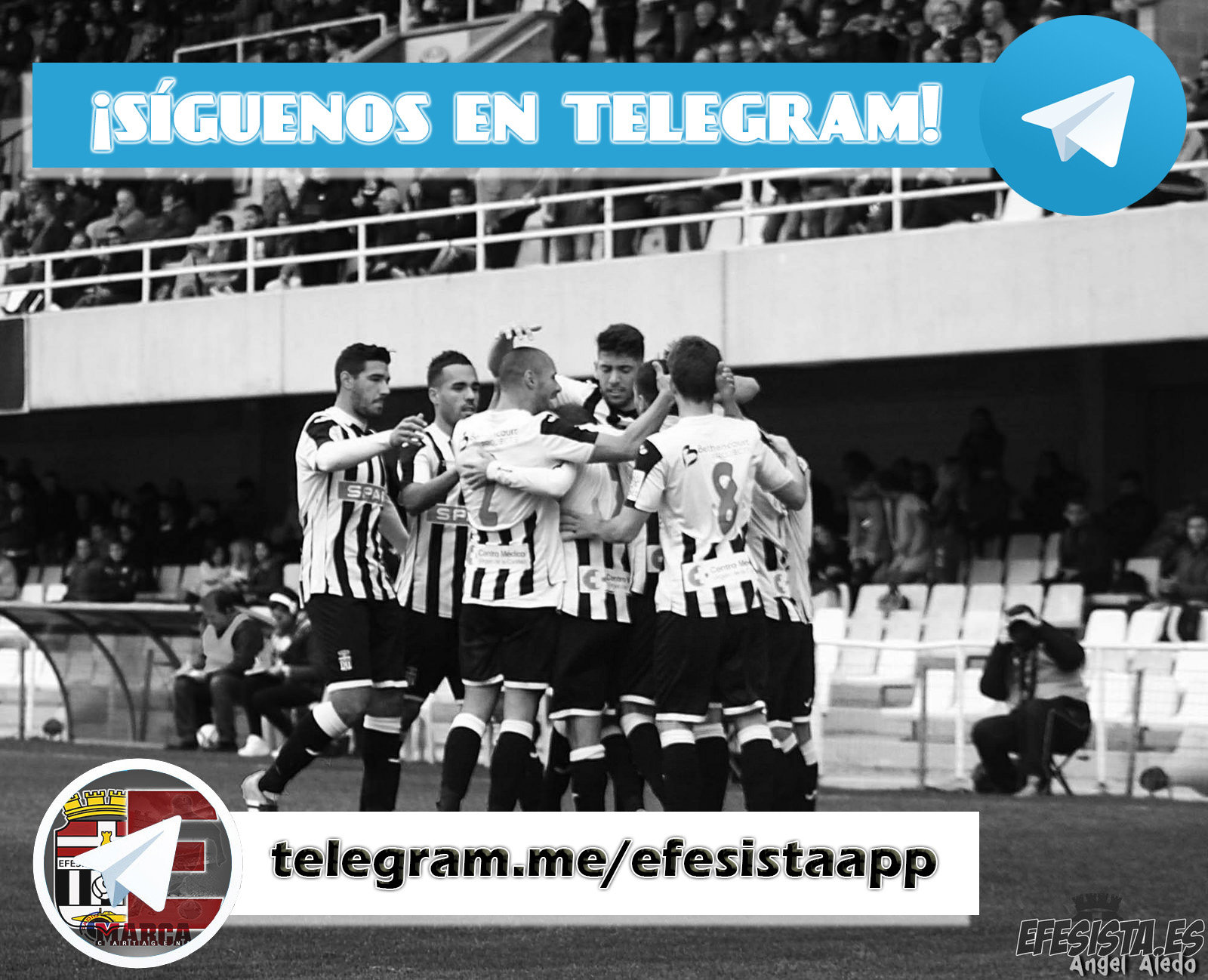 Únete a Telegram!